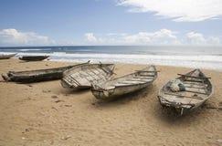 Barcos de pesca. Fotografia de Stock