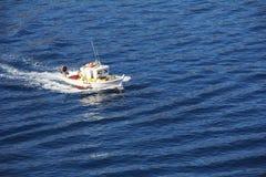 Barcos de pesca Imágenes de archivo libres de regalías