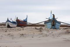 Barcos de pesca Fotos de Stock