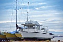 Barcos de pesca Imagenes de archivo