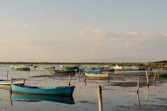 Barcos de pesca Fotografia de Stock