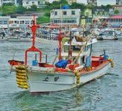 Barcos de pesca 001 Imagem de Stock Royalty Free