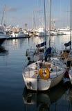 Barcos de pesca imagem de stock