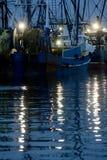 Barcos de pesca atlánticos Imágenes de archivo libres de regalías