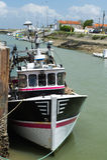 Barcos de pesca Boyardville Francia Fotografía de archivo libre de regalías