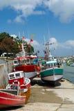 Barcos de pesca Boyardville Francia fotografía de archivo