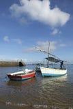 Barcos de pesca brasileiros Salvador Bahia Brazil Imagens de Stock Royalty Free