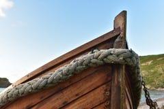Barcos de pesca de la ensenada de Lulworth Fotografía de archivo