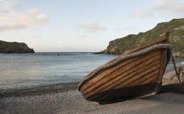 Barcos de pesca de la ensenada de Lulworth Fotografía de archivo libre de regalías