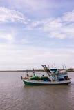 Barcos de pesca de Tailândia no mar Imagens de Stock Royalty Free
