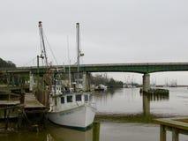 Barcos de pesca en Darien Imagenes de archivo