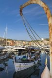 Barcos de pesca en el puerto Imagen de archivo