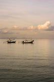 Barcos de pesca en Krabi 2 Imagenes de archivo