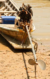 Barcos de pesca locais. Foto de Stock Royalty Free
