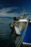 Barcos de pesca, louro de Kalk Foto de Stock Royalty Free