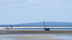 Barcos de pesca pequenos Foto de Stock Royalty Free
