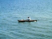 barcos de pesca pequenos na baía oagascar, Imagens de Stock