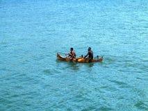 barcos de pesca pequenos na baía oagascar, Fotografia de Stock
