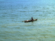 barcos de pesca pequenos na baía oagascar, Fotografia de Stock Royalty Free