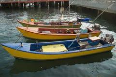 Barcos de pesca tailandeses Fotos de archivo