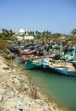 Barcos de pesca tradicionales Fotos de archivo libres de regalías