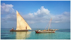 Barcos de pesca tradicionales Imagenes de archivo