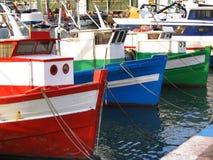 Barcos de pesca velhos Foto de Stock