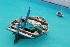 Barcos de pesca velhos Foto de Stock Royalty Free