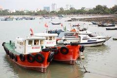 Barcos de pesca viejos Imagen de archivo