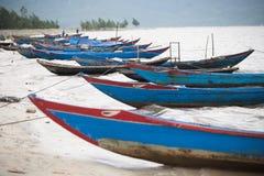 Barcos de pesca Vietnam Imagem de Stock Royalty Free