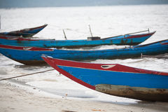 Barcos de pesca Vietnam Fotografia de Stock Royalty Free