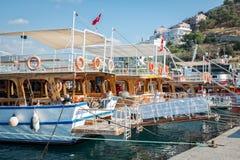 Barcos de placer Imagen de archivo libre de regalías