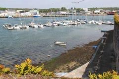 Barcos de placer - Concarneau - Francia Foto de archivo libre de regalías