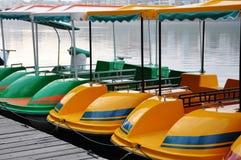 Barcos de prazer fotografia de stock