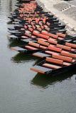 Barcos de río fotos de archivo libres de regalías