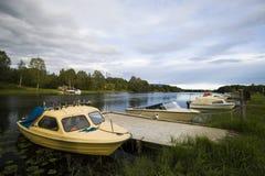 Barcos de río. fotos de archivo