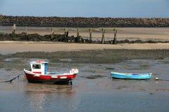 Barcos de río Foto de archivo libre de regalías