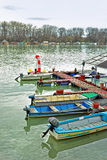 Barcos de rio Fotografia de Stock