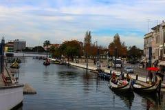 Barcos de rio em Portugal Fotografia de Stock Royalty Free