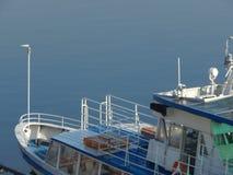 Barcos de rio nos detalhes e nos elementos imagem de stock royalty free