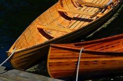 Barcos de rowing en el río Christchurch de Avon Imagenes de archivo