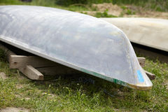 Barcos de sequía Imágenes de archivo libres de regalías