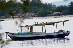 Barcos de Tradicional Indonesia en Gili Island Imágenes de archivo libres de regalías