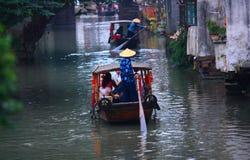 Barcos de turista imagem de stock