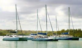 Barcos de vela Fotografía de archivo libre de regalías