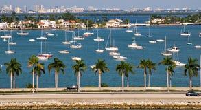 Barcos de vela de la isla de la estrella Imágenes de archivo libres de regalías