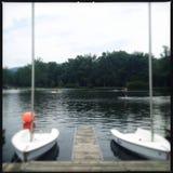 Barcos de vela en el embarcadero Fotografía de archivo libre de regalías