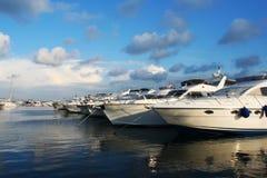Barcos de vela hermosos Fotos de archivo libres de regalías