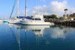 Barcos de vela nas Caraíbas Imagem de Stock