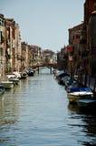 Barcos de Venecia Fotografía de archivo libre de regalías